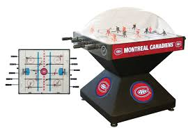 choose your nhl team deluxe bubble dome hockey table game by