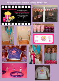 movie themed children u0027s birthday party bright horizons blog