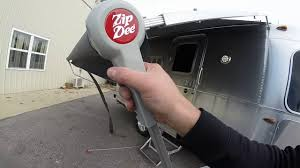 Awnings By Zip Dee The Airstream Zip Dee Awning Demonstration Youtube