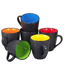 best large coffee mugs coffee mug set set of 6 large sized 16 ounce ceramic coffee mugs