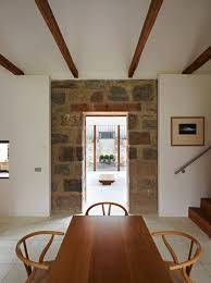 scottish country house incorporates ruins of a former mill rustic
