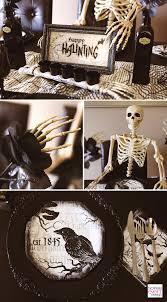 Skeleton Decoration Halloween Spooky Soiree