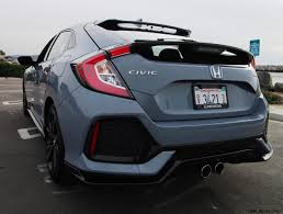 2017 honda civic sport 6mt hatchback road test review by ben lewis