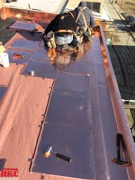Cost Of A Copper Roof by Flat Lock Copper Case Study Hkc