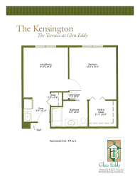 floor plans of the terrace at glen eddy well designed assisted