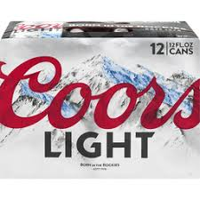 Coors Light 24 Pack Lagers