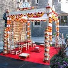 Bengali Mandap Decorations Wedding Decorators Service Provider From Mohali