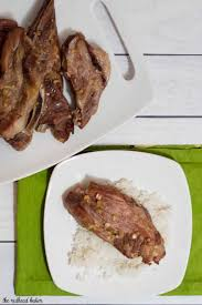 hawaiian style pork ribs recipe by the redhead baker