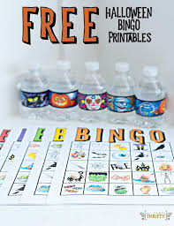 Halloween Bingo Printables Kids Halloween Party Bingo Cards Free Printable All Things Thrifty