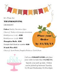 time to pre order your thanksgiving honey s cakes