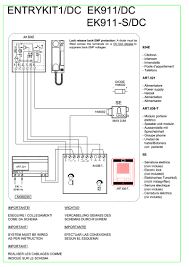comelit handset wiring diagram comelit wiring diagrams collection