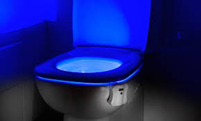 toilet light led motion activated toilet light groupon goods