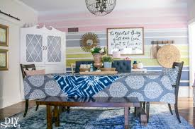 dining room makeovers color lovers 10 bloggers 10 room makeovers dining room refresh