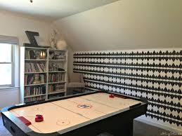 game on gameroom makeover allthingsrenee