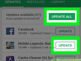 how to update apps android how to update apps on android 10 steps with pictures wikihow