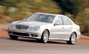 2005 mercedes amg e55 mercedes e55 amg road test reviews car and driver