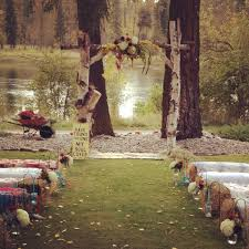 Fall Backyard Wedding by Fall Country Wedding Best Photos Whitefish Montana And Mattress