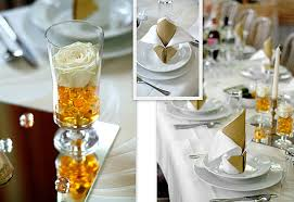 easy wedding table decorations table decorations for
