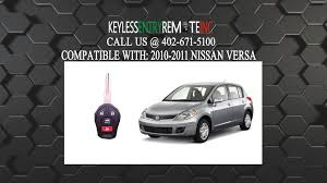 nissan versa hatchback 2011 how to replace nissan versa key fob battery 2010 2011 youtube