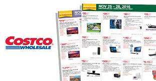 costco black friday sale costco black friday 2016 ad posted blackfriday fm