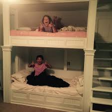 Built In Bunk Bed How To Make Built In Bunk Beds Popsugar