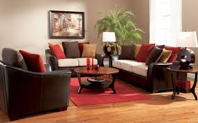 Painted Living Room Furniture by Brown Sofa Living Room
