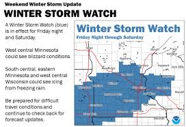 Minnesota Joint Travel Regulations images Winter storm watch ice and plowable snowfall potential grows for JPG