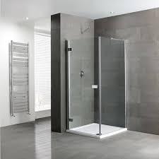 Shower Hinged Door Volente Frameless Hinge Door Silver Shower Enclosure Buy At