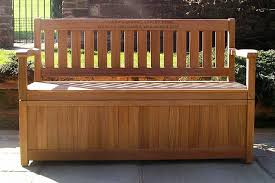 Outdoor Storage Bench Diy by Patio Storage Bench Treenovation