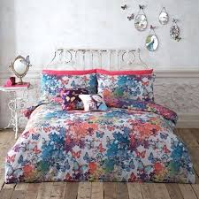 Asda Single Duvet Butterfly Bedding Set Asda Butterfly Duvet Cover Super King Size