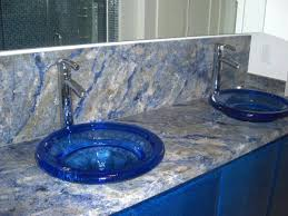 vessel sink bathroom ideas free blue the most brilliant blue glass bathroom sink ordinary