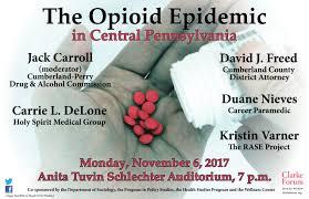 Family Medicine Forum 2015 Program The Opioid Epidemic In Central Pennsylvania Clarke Forum For
