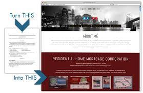 Online Resume Website by Resume Sites Cv Resume Template Examples