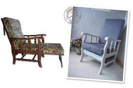 relooker un canap en tissu atelier secrets de siège fauteuil des ées 1980 relooké avec un