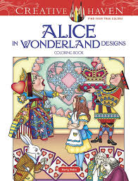 alice wonderland coloring book review coloring queen