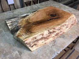 Red Oak Table by Live Edge Wood Slabs Red Oak Crotch Lumber Live Edge Lumber