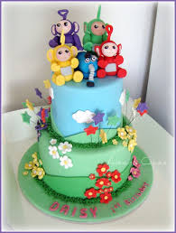 How To Decorate Christening Cake Best 25 Teletubbies Cake Ideas On Pinterest Teletubbies Baby