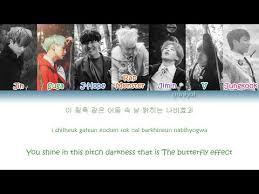 butterfly bts lyrics free mp3 black band