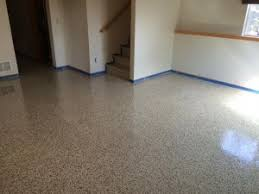 install epoxy floor in your basement this winter garage storage