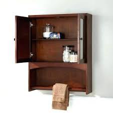Bathroom Wall Cabinet With Towel Bar Bathroom Cabinet Towel Bar S Bathroom Cabinet With Towel Holder