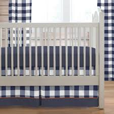 Navy Blue And White Crib Bedding by Blankets U0026 Swaddlings Navy Blue Mini Crib Bumper Together With