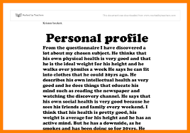 Sample Profile For Resume by 18 Sample Professional Profile For Resume Over 10000 Cv And