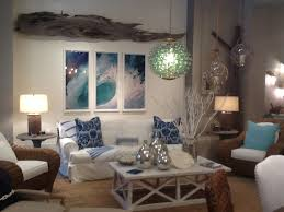 sea view living room sofa graceful beach style sofa themed living room ideas with