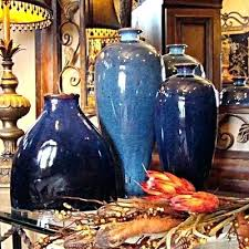 bulk wholesale home decor tuscan vases home decor beautiful blue vases vases in bulk