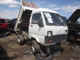suzuki mighty boy junkyard find mitsubishi minicab dump truck the truth about cars