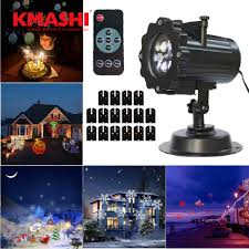 manificent decoration christmas lights projector with 16 slides