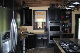 Black Kitchen Cabinets Black Kitchen Cabinets Small Kitchen Interior U0026 Exterior Doors