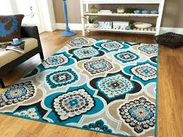 Chocolate Brown Area Rugs Teal And Chocolate Rugs Rick Teal Area Rug Adca22 Org