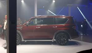 nissan has revealed the new 2017 armada cars