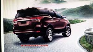 toyota fortuner vs lexus new 2016 toyota fortuner suv this is it